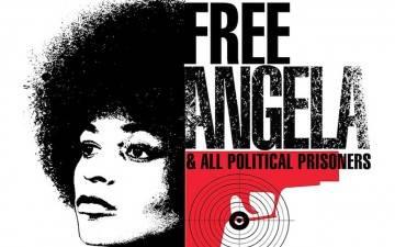 angela davis,noire,communiste,racisme,usa